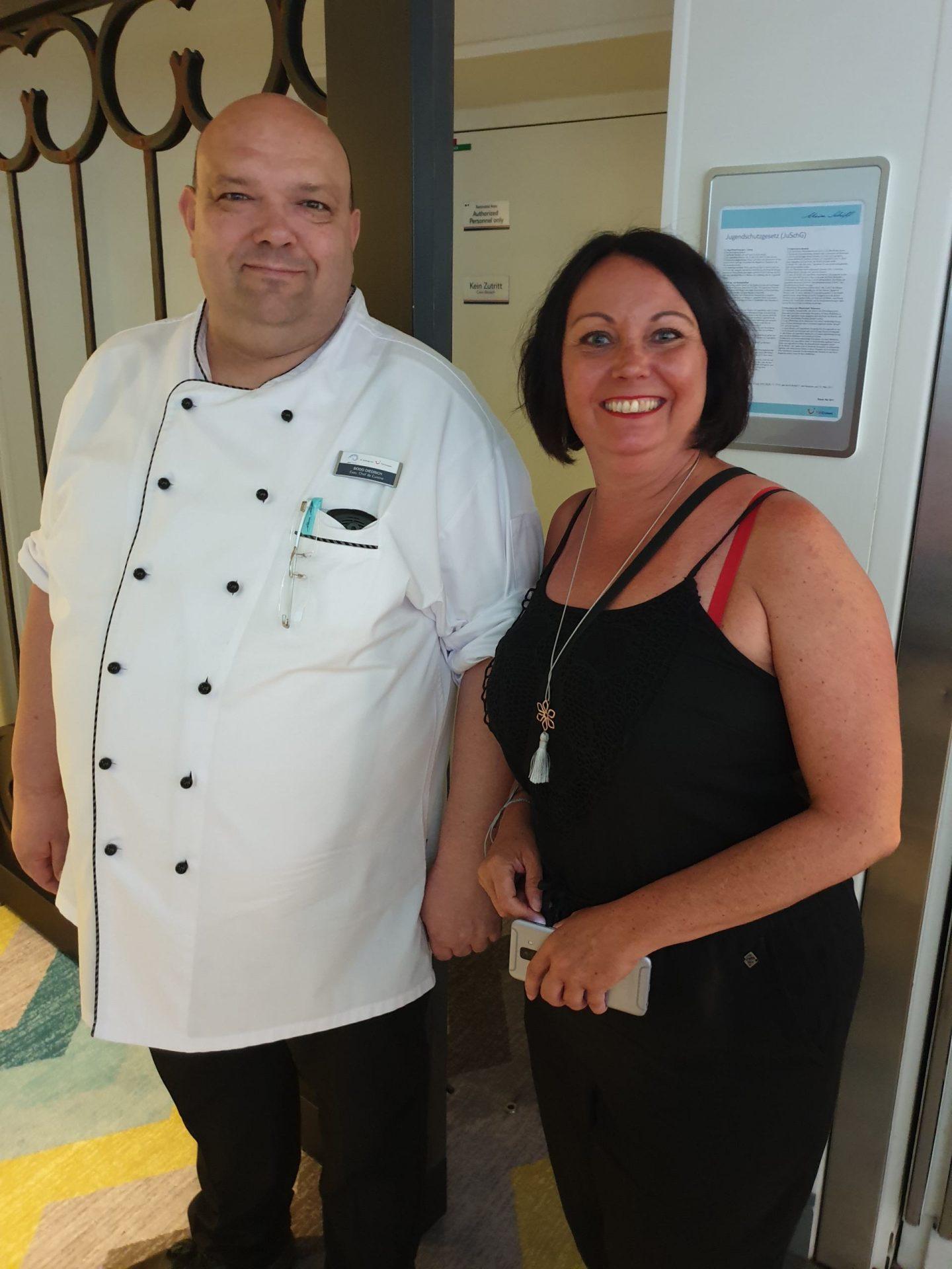 Backstage: Besuch in der Küche der Mein Schiff 6